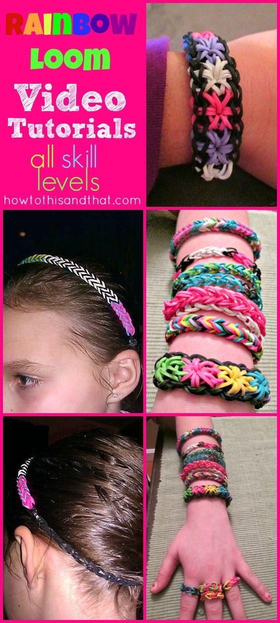 #rainbowloom #bracelets #tutorials #howto #diy #kids