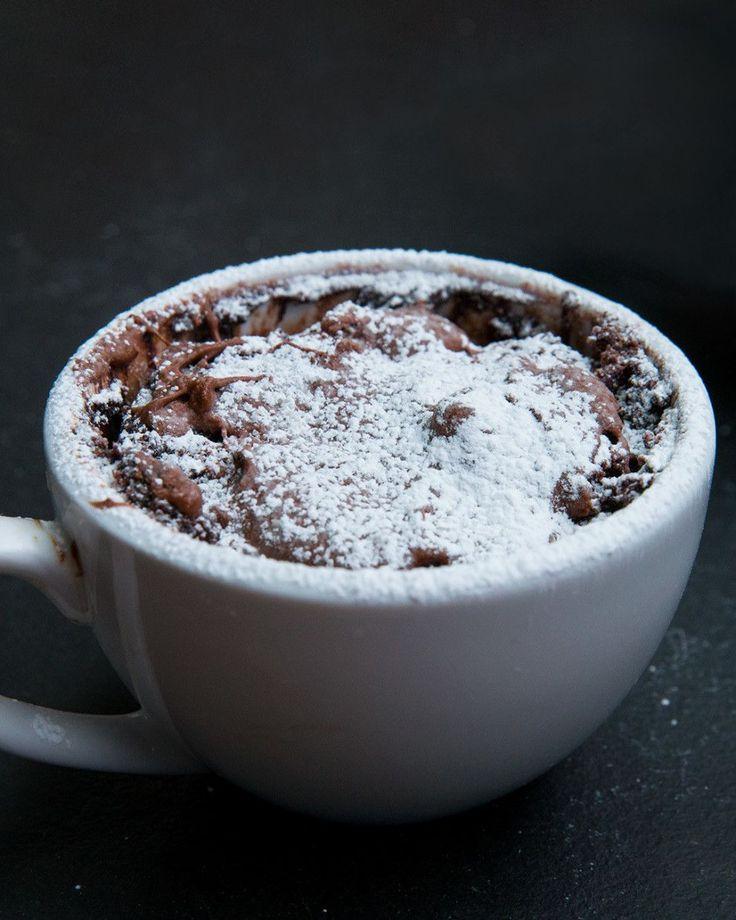 Chocolate Hazelnut Mug Cake