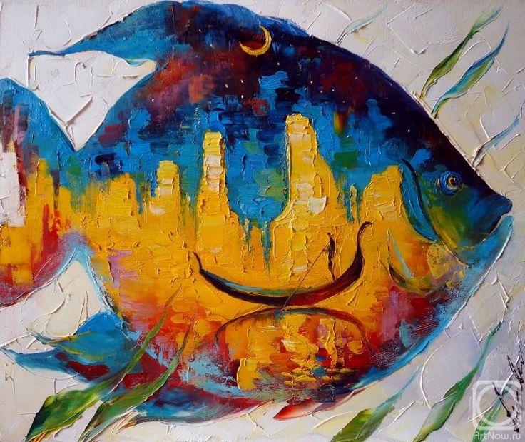 картинки рыба художника свои