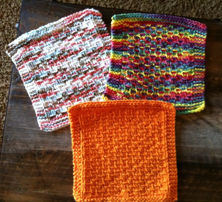 Knitted Dishcloth Patterns States : Darrell Waltrip dishcloths 2014 What I have made. Pinterest Dishcloth