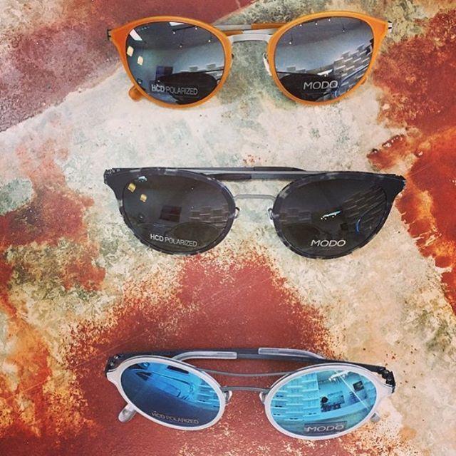 MODO Paper-Thin Titaniumwith HCD Polarized lenses  photo: @winkoptique  #modoeyewear #paperthin #titanium #sunglasses #polarized #eyewear #design #ethicalfashion