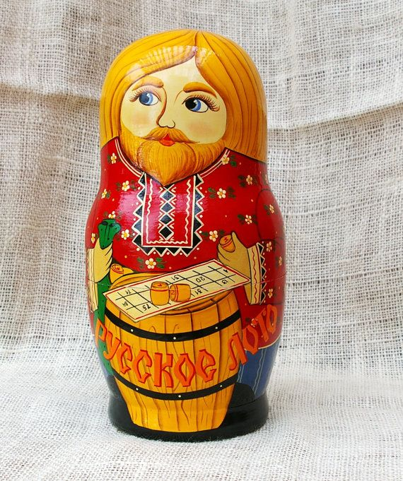 Traditional russian Doll Bingo theme by TrellisLaneVintage on Etsy, $198.00