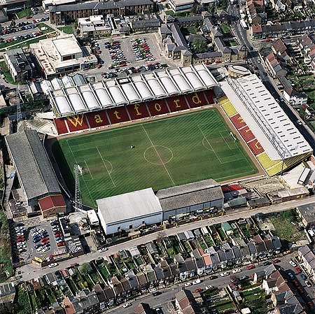 Watford FC, Vicarage Road, Watford, Hertfordshire