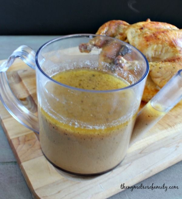Best Gravy Recipe Ever  -  I have never used milk in my gravy, but am willing to try with a roasted chicken first.