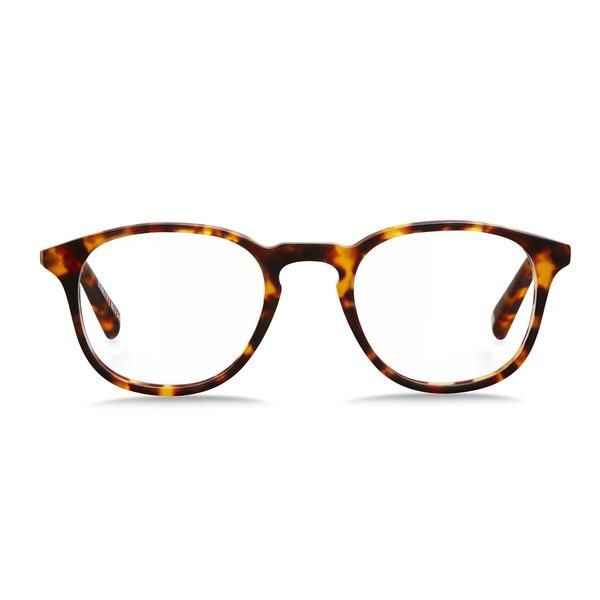 Parker / Matte Orange Tortoiseshell