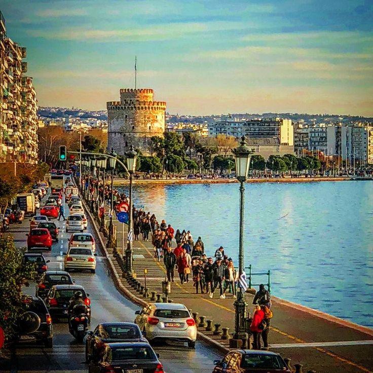 White Tower #thessaloniki #greece #sunny #instaview #instalike #instamood #instagood #instalike #instadaily #instalifo