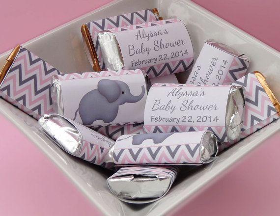 baby shower elefante rosa y gris5