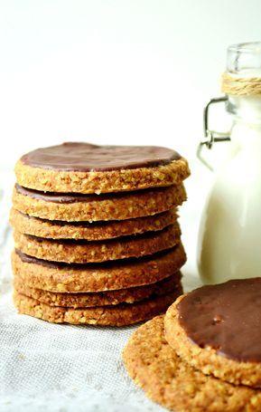 Ciastka, które skradły moje serce i kubki smakowe. Po raz pierwszy jadłam je wiele lat temu w Londynie. Słodkie, lekko słone, chrupiące, czyli to co jest w tych ciastkach najlepsze. Oczywiście nie byłabym sobą gdybym nie zrobiła ciastek digestive w zdrowszej wersji, u mnie tradycyjnie w wersji bez cukru i z mąki razowej. Ciasta najlepiej … Czytaj dalej Razowe ciastka digestive bez cukru (słodzone ksylitolem) →