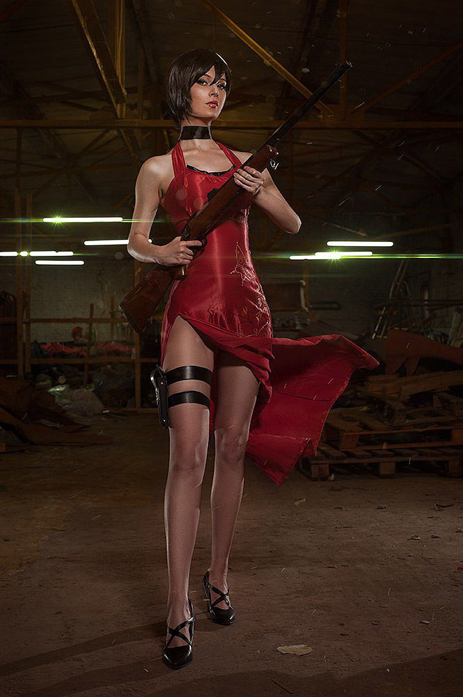 Final Fantasy Wallpaper Iphone X Cosplay Ada Wong Resident Evil 4 Par Akina Gasai
