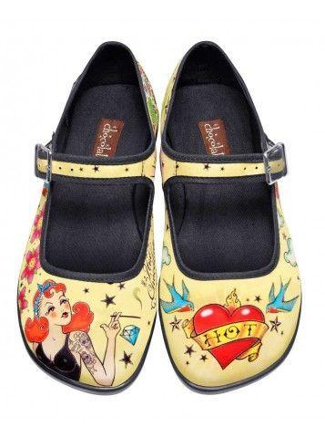 Tattoo - Hot Chocolate Shoes <3