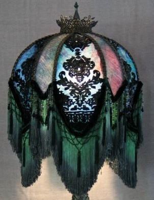 356 best victorian lamps lampshades images on pinterest emerald city lampshade from deborah harper find this pin and more on victorian lamps lampshades mozeypictures Gallery
