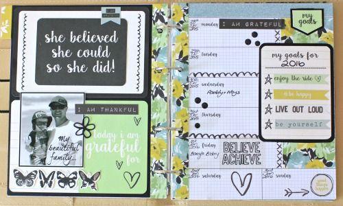 Kaisercraft #Me Journal Planner by Alicia McNamara