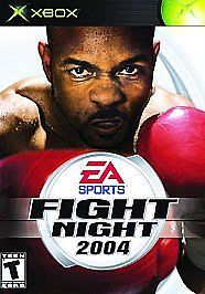 XBOX FIGHT NIGHT 2004  PRIVATE COLLECTION GREAT CONDITION