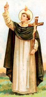 St. Vincent Ferrer: Whatever you do, said Saint Vincent, think not of yourself, but of God. In this spirit he preached, and God spoke by him; in this spirit, if we listen, we shall hear the voice of God. #Catholic #Pray