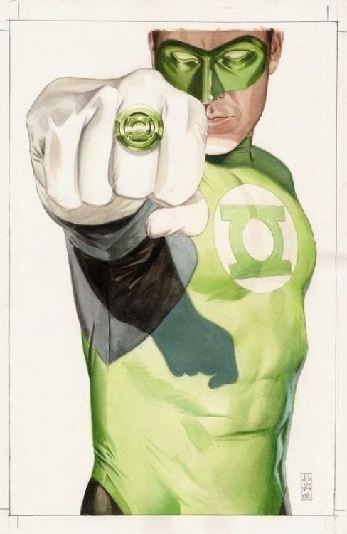 Green Lantern by J.G. Jones
