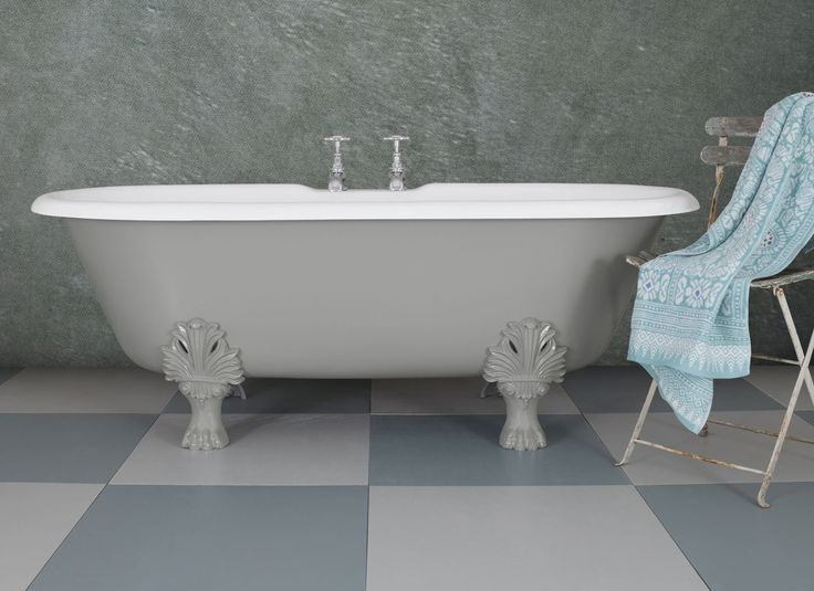 On Cold days, do you ever feel just like lying back in a hot bath and just relaxing! We can help, with the beautiful Palm Leaf cast iron bath! #Baths #Bathroom #Luxury #Bespoke #HandFinished #UKManufactured #Decorative