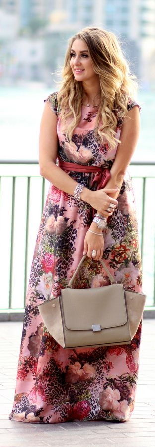 Floral Maxi Dress By Mungolife, we don't all have to be all exposed to feel truly pretty, I would rather be a present for my husband!