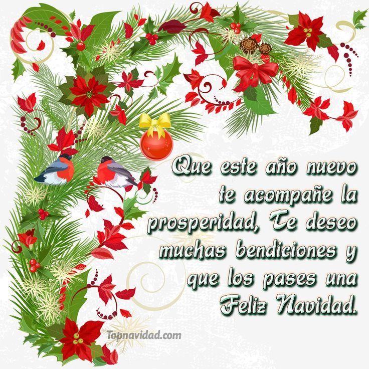 156 best feliz navidad images on pinterest happy new - Felicitaciones cortas de navidad y ano nuevo ...