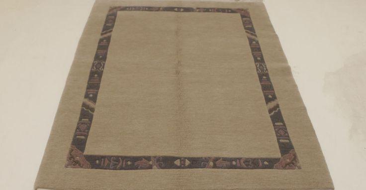 Nepal Teppich 100% Wolle  Handgeknüpft 181 x 128 cm Rugs orient preproga