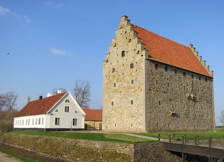 Glimmingehus, located in Simrishamn Municipality, Scania, in southern Sweden, is the best preserved medieval stronghold in Scandinavia.