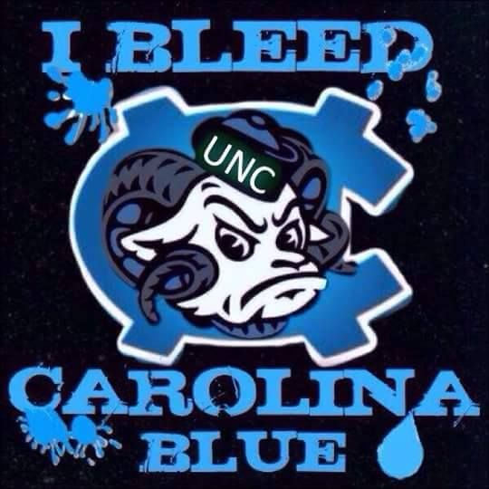 Go North Carolina Tar Heels !