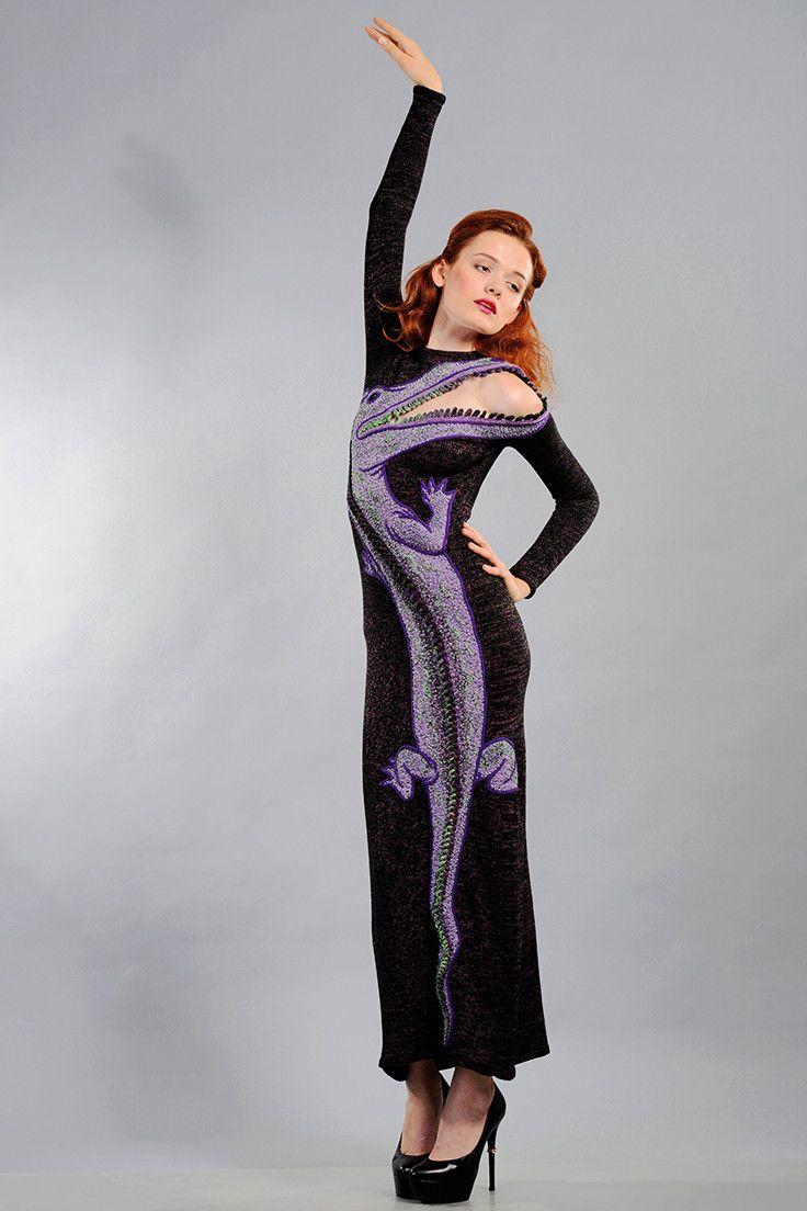 "Alexander Seraphim's knitwear, ""Beloved Crocodile #3"", 2014"