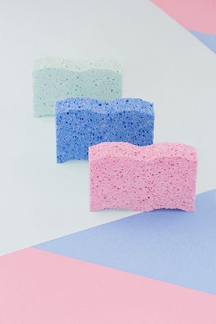 color | sponges