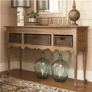 Down Home Sideboard With Baskets By Paula Deen By Universal Knoxville Wholesale Furniture