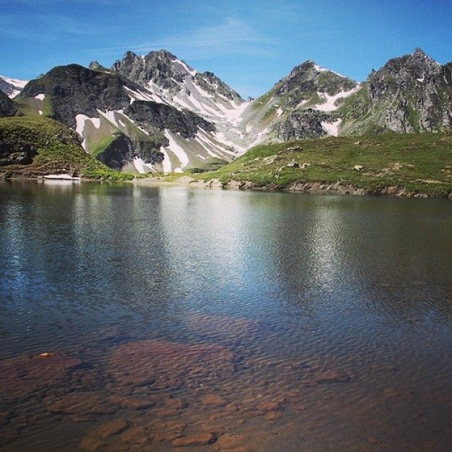 #Wangsersee in the #Pizol Mountain Area in the #Heidiland Holiday Region. More on www.instagram.com/swissheidiland