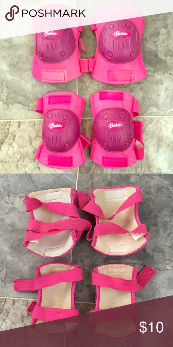 """CHILD'S """"BARBIE"""" KNEE AND ELBOW PADS! NEVER USED! """"BARBIE"""" SET OF child's knee and elbow pads. Barbie Other"""