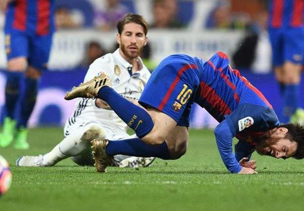 Sergio Ramos' sarcastic applause during El Clasico sending off gets unnoticed in referee report