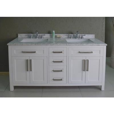 Home depot ove decors 60 inch celeste vanity model celeste 60 internet cat 808156 store for Home depot bathroom cabinets in stock