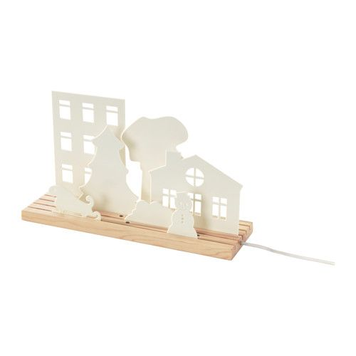 IKEA - STRÅLA, LED table decoration, , Perfect for creating the ambiance of the holidays in your home.Gives a soft glowing light, that gives your home a warm and welcoming atmosphere.