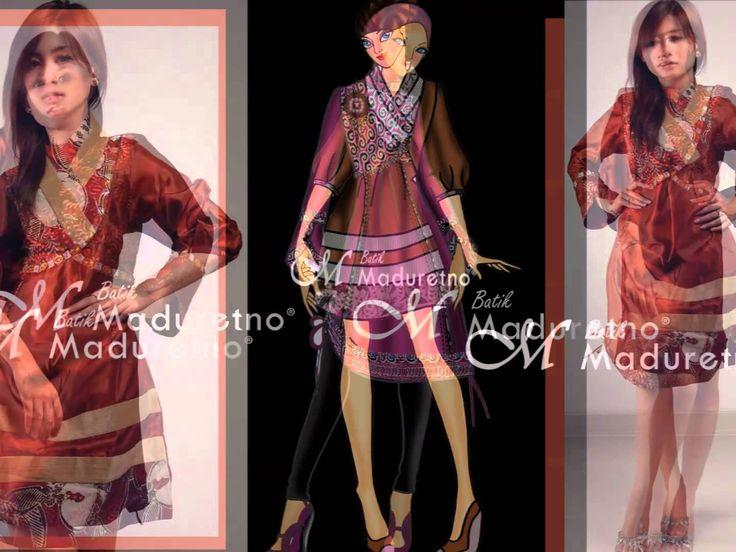 (Batik Maduretno) I'll stand by you, Carrie Underwood. Fashion Batik Tulis Indonesia