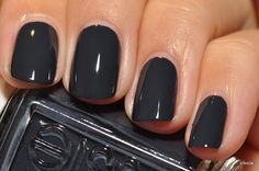 charcoal grey no chip manicure color - Google Search Nail Design, Nail Art, Nail Salon, Irvine, Newport Beach