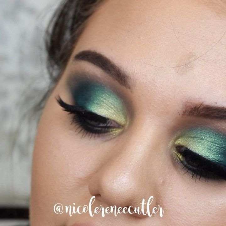 """769 Likes, 29 Comments - NICOLE RENEE (@nicoleeecutler) on Instagram: """"One of my favorite looks I've ever created!😍 What is your holy grail eyeshadow palette?! I've…"""""""