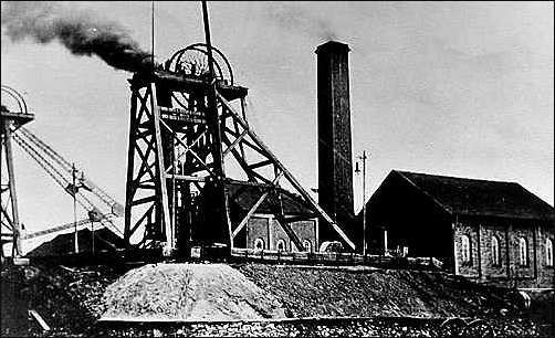 the Glebe colliery, Fenton, Stoke-on-Trent - very much as it would have looked in my Grandmother's childhood.