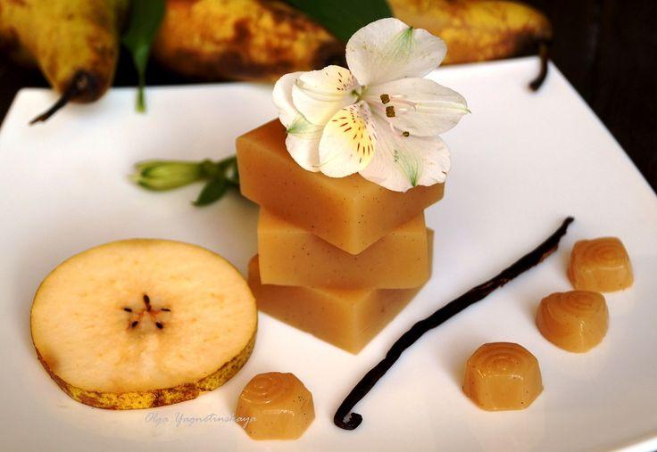 Диетический фруктовый мармелад. Ванильно-грушевый фруттолад - диетические десерты - Полезные рецепты - Правильное питание или как правильно похудеть
