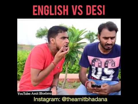 English Guy VS Desi Guy