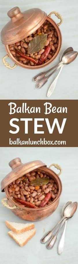 Vegetarian Balkan bean stew recipe |  how to make Balkan bean stew | one-pot stew | hearty stew recipe | comforting stew recipe | comfort soup recipe | comfort food recipe | comfort stew | bean stew | bean soup recept za grah | kako se pravi grah | recept za pasulj | kako se pravi pasulj | recept za vegetarijanski grah | recept za vegetarijanski pasulj | jna grah | recept za grah iz jna |
