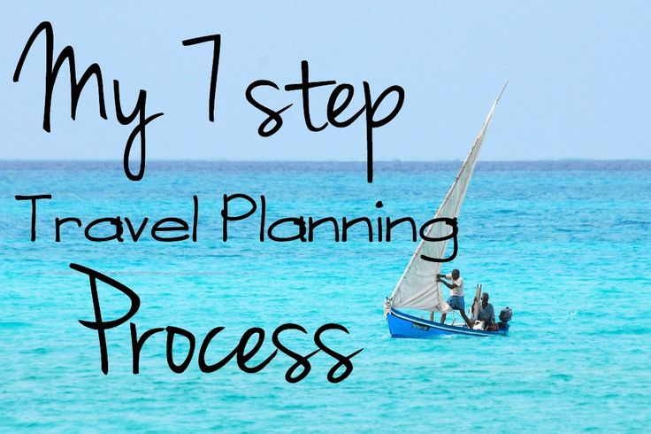 My 7 Step Travel Planning Process - how I plan my travel from start to finish