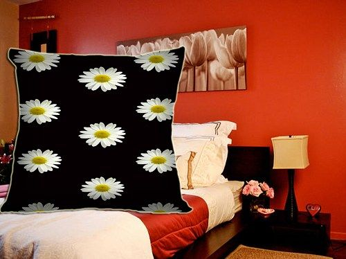"""The custom pillow case brings 100% fun into your bedroom. It measures 20"""" x 20"""", which can easily fit in any standard size pillow.  This pillow case can be full bleed printed with your own photos, ide"""