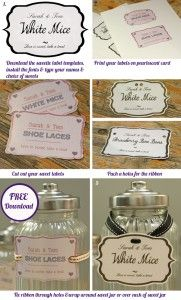 free download candy buffet labels