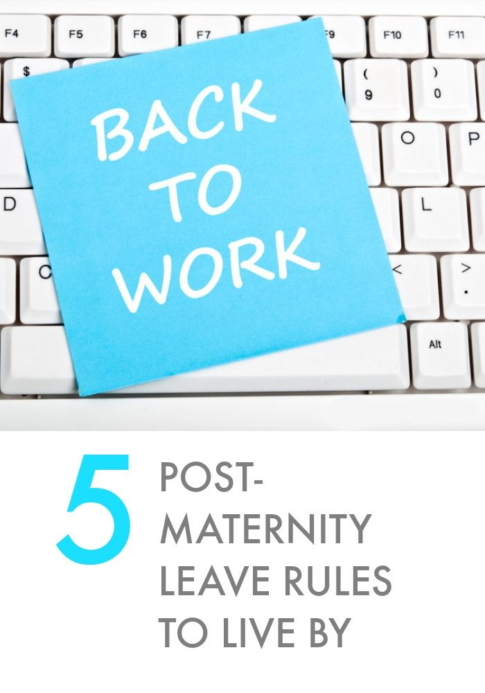 Returning To Work After Maternity Leave Again Baby Return To