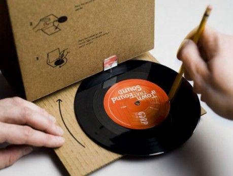 Packaging Sostenible :Disco de vinilo