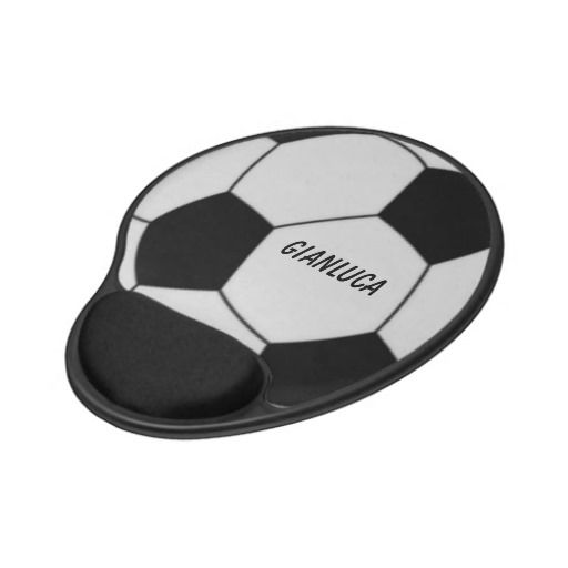 Soccer Personalized Gel Mouse Pad