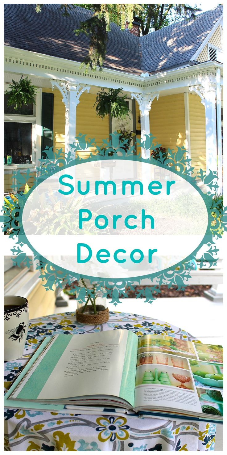 Outdoor curtains for porch and patio designs 22 summer decorating - Front Porch Makeover For Summer 1901 Victorian Porch Jenn S Front Porch 2 Bees