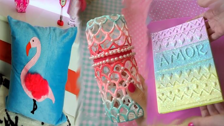 DIY ROOM DECOR! 23 Easy Crafts Ideas at Home for Teenagers