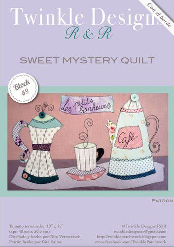 Sweet Mystery Quilt - Block # 9 -pattern