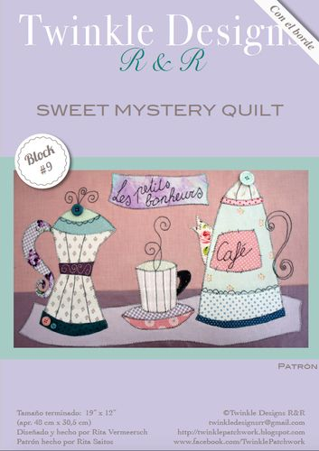 Sweet Mystery Quilt - Block # 9 -pattern